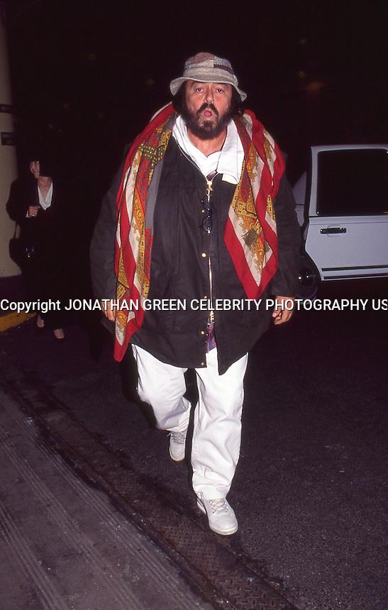 Luciano Pavarotti 1996 By Jonathan Green