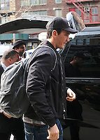 www.acepixs.com<br /> <br /> February 1 2017, New York City<br /> <br /> Actor Miles Teller leaves a downtown hotel on February 1 2017 in New York City<br /> <br /> By Line: Curtis Means/ACE Pictures<br /> <br /> <br /> ACE Pictures Inc<br /> Tel: 6467670430<br /> Email: info@acepixs.com<br /> www.acepixs.com