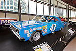 Charlotte NC - The NASCAR Hall of Fame has legendary stock cars exhibited