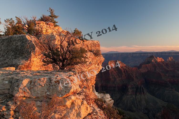 Bright Angel Canyon - Deva, Brahma and Zoroaster Temple