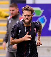 Lincoln City's Jorge Grant during the pre-match warm-up<br /> <br /> Photographer Chris Vaughan/CameraSport<br /> <br /> The EFL Sky Bet Championship - Rotherham United v Lincoln City - Saturday 10th August 2019 - New York Stadium - Rotherham<br /> <br /> World Copyright © 2019 CameraSport. All rights reserved. 43 Linden Ave. Countesthorpe. Leicester. England. LE8 5PG - Tel: +44 (0) 116 277 4147 - admin@camerasport.com - www.camerasport.com