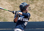 April 7, 2012:   Nevada Wolf Pack's Karley Hopkins at the plate against the San Jose State Spartans during their NCAA softball game played at Christina M. Hixson Softball Park on Saturday in Reno, Nevada.