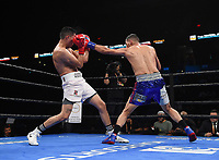 ONTARIO, CA - DECEMBER 21: Hugo Centeno Jr. v Juan Macias Montiel on the Fox Sports PBC Fight Night at Toyota Arena on December 21, 2019 in Ontario, California. (Photo by Frank Micelotta/Fox Sports/PictureGroup)