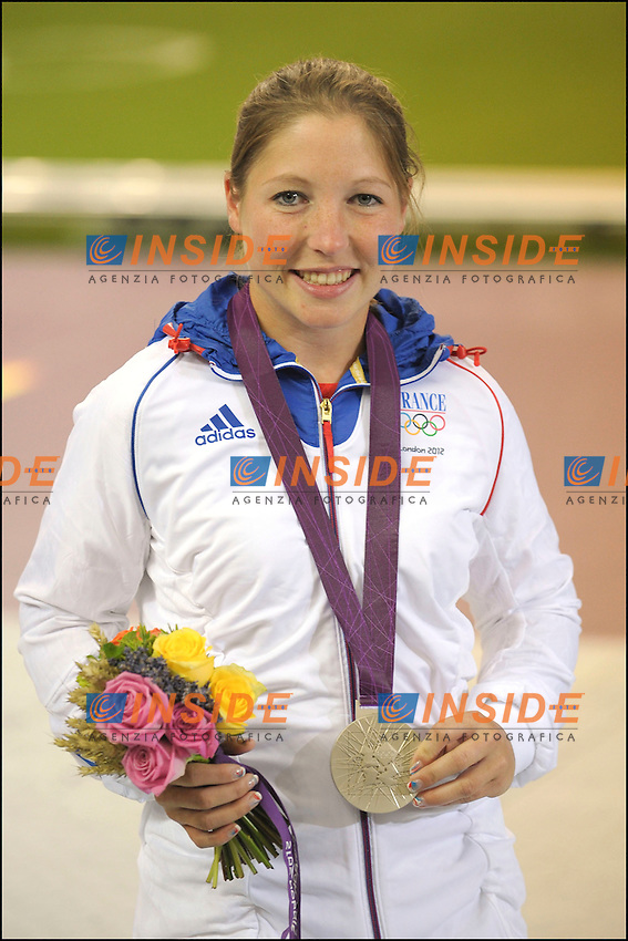 Celine Goberville medaglia d'argento.Londra 29/07/2012 Olimpiadi Londra 2012. Pistola 10 m..Photo JB Autissier/Panoramic/Insidefoto.ITALY ONLY..