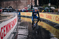 Philippe Gilbert (BEL/Quick Step floors) to the start<br /> <br /> 109th Milano-Sanremo 2018<br /> Milano &gt; Sanremo (291km)