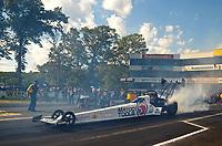 Jun 9, 2017; Englishtown , NJ, USA; NHRA top fuel driver Antron Brown during qualifying for the Summernationals at Old Bridge Township Raceway Park. Mandatory Credit: Mark J. Rebilas-USA TODAY Sports
