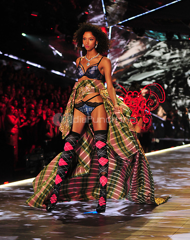 NEW YORK, NY - NOVEMBER 08: Aiden Curtiss at the 2018 Victoria's Secret Fashion Show at Pier 94 on November 8, 2018 in New York City. Credit: John Palmer/MediaPunch