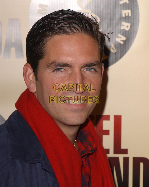 "JIM CAVIEZEL.Los Angeles Premiere of ""Hotel Rwanda"" held at The Academy Theatre in Beverly Hills, California.December 2nd, 2004.headshot, portrait, .www.capitalpictures.com.sales@capitalpictures.com.Supplied by Capital Pictures."