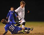 Lobos Rush Azul vs. Lobos Rush Crew at the Mike Rose Soccer Complex in Memphis, Tenn. on Monday, November 11, 2013. Azul won 11-0.