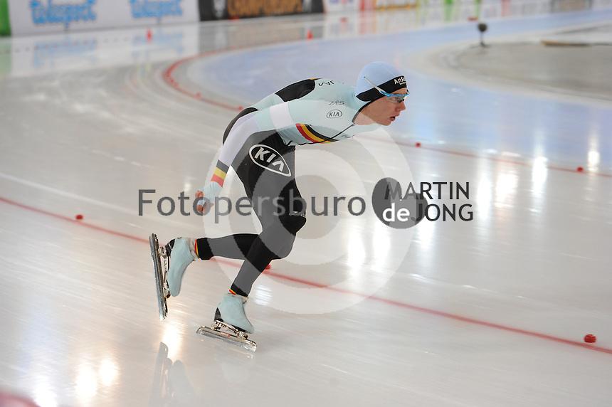 SPEED SKATING: HAMAR: Vikingskipet, 04-03-2017, ISU World Championship Allround, 5000m Men, Bart Swings (BEL), ©photo Martin de Jong