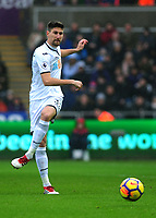 Swansea City's Federico Fernandez<br /> <br /> Photographer Ashley Crowden/CameraSport<br /> <br /> The Premier League - Swansea City v Burnley - Saturday 10th February 2018 - Liberty Stadium - Swansea<br /> <br /> World Copyright &copy; 2018 CameraSport. All rights reserved. 43 Linden Ave. Countesthorpe. Leicester. England. LE8 5PG - Tel: +44 (0) 116 277 4147 - admin@camerasport.com - www.camerasport.com