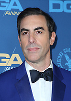 LOS ANGELES, CA - FEBRUARY 2: Sacha Baron Cohen at the 71st Annual DGA Awards at the Hollywood &amp; Highland Center's Ray Dolby Ballroom  in Los Angeles, California on February 2, 2019. <br /> CAP/MPIFS<br /> &copy;MPIFS/Capital Pictures