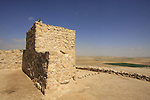 Israel, Negev. The fortress at the upper city of Tel Arad was initially settled during the Israelite period