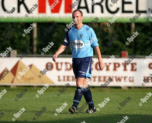 2008-07-23 / Voetbal / Archief 2008-2009 / K.F.C. Houtvenne / Thomas Heylen..Foto: Maarten Straetemans (SMB)