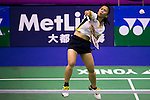 Lyanny Alessandra MAINAKY of Indonesia in action while playing against Jesica MULJATI of Indonesia during the YONEX-SUNRISE Hong Kong Open Badminton Championships 2016 at the Hong Kong Coliseum on 23 November 2016 in Hong Kong, China. Photo by Marcio Rodrigo Machado / Power Sport Images