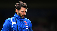 Lincoln City manager Danny Cowley during the pre-match warm-up<br /> <br /> Photographer Chris Vaughan/CameraSport<br /> <br /> The EFL Sky Bet League Two - Lincoln City v Chesterfield - Saturday 7th October 2017 - Sincil Bank - Lincoln<br /> <br /> World Copyright &copy; 2017 CameraSport. All rights reserved. 43 Linden Ave. Countesthorpe. Leicester. England. LE8 5PG - Tel: +44 (0) 116 277 4147 - admin@camerasport.com - www.camerasport.com