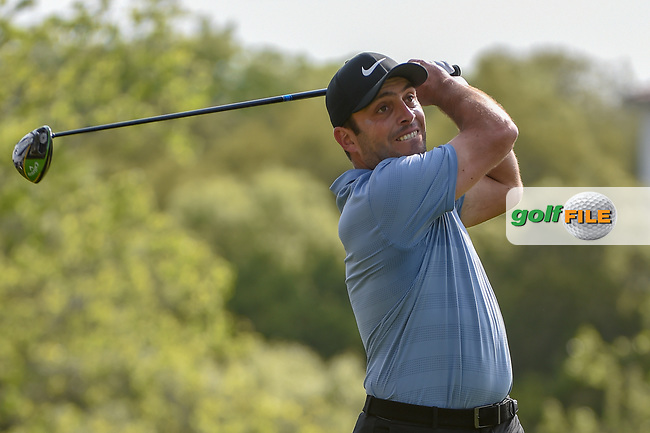 Francesco Molinari (ITA) watches his tee shot on 3 during day 2 of the WGC Dell Match Play, at the Austin Country Club, Austin, Texas, USA. 3/28/2019.<br /> Picture: Golffile | Ken Murray<br /> <br /> <br /> All photo usage must carry mandatory copyright credit (© Golffile | Ken Murray)