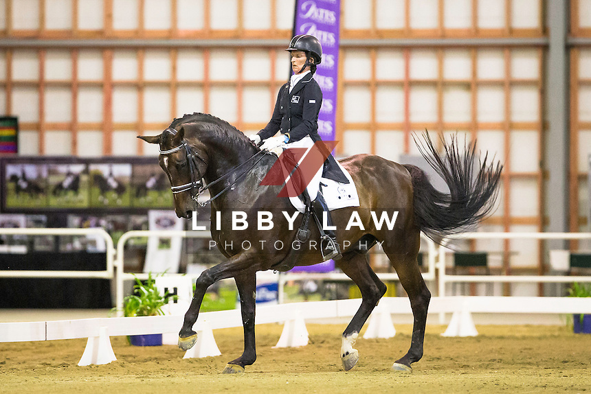 NZL-Penny Castle (MAGNUS SPERO) 1ST-Superior Rubber Surfaces National Challenge Final CDI3* FEI Grand Prix: 2015 NZL-Bates NZ Dressage Championships, Manfeild Park - Feilding (Thursday 5 March) CREDIT: Libby Law COPYRIGHT: LIBBY LAW PHOTOGRAPHY