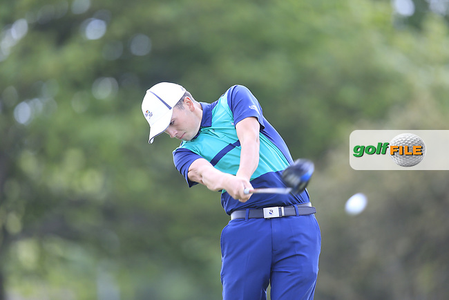 Ciaran Kelly (USA) during the 1st round of the East of Ireland championship, Co Louth Golf Club, Baltray, Co Louth, Ireland. 02/06/2017<br /> Picture: Golffile   Fran Caffrey<br /> <br /> <br /> All photo usage must carry mandatory copyright credit (&copy; Golffile   Fran Caffrey)