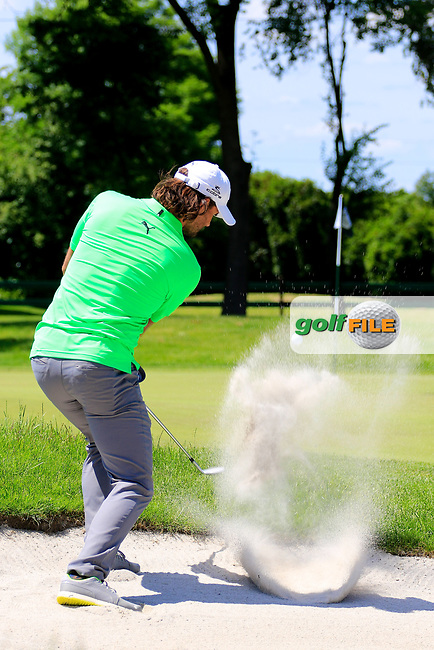 Johan Edfors (SWE) during the first round of the Lyoness Open powered by Organic+ played at Diamond Country Club, Atzenbrugg, Austria. 8-11 June 2017.<br /> 08/06/2017.<br /> Picture: Golffile | Phil Inglis<br /> <br /> <br /> All photo usage must carry mandatory copyright credit (&copy; Golffile | Phil Inglis)