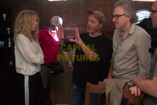 The Disappointments Room (2016)<br /> Kate Beckinsale, Director D.J. Caruso and Director Of Photography Rogier Stpffers on the set <br /> *Filmstill - Editorial Use Only*<br /> CAP/FB<br /> Image supplied by Capital Pictures