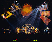 Dire Wolf. The Grateful Dead live in concert at the Nassau Coliseum, Uniondale NY, 4 April 1993.