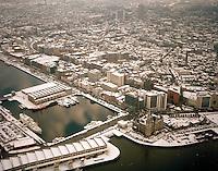 Februari 1999. Winter in Antwerpen.