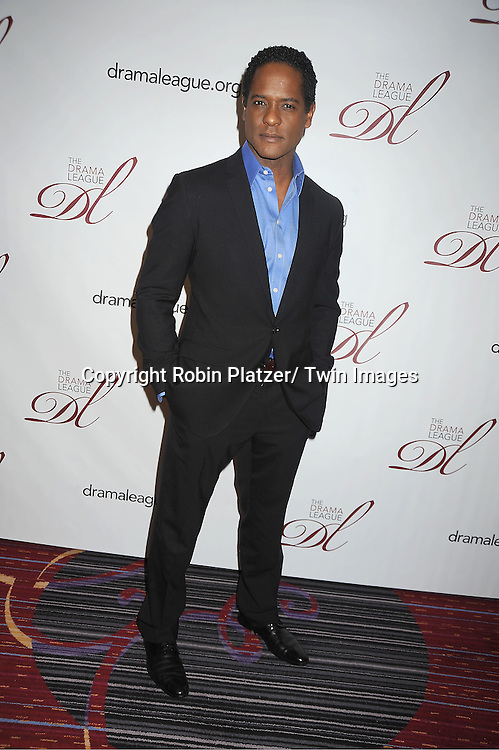 Blair Underwood  attends the 78th Annual  Drama League Awards Luncheon at The Marriott Marquis Hotel in New YOrk City on May 18, 2012.