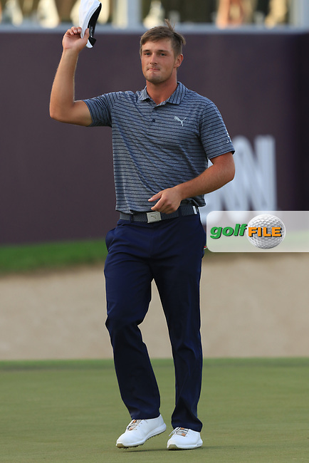 Bryson Dechambeau (USA) wins the Omega Dubai Desert Classic, Emirates Golf Club, Dubai,  United Arab Emirates. 27/01/2019<br /> Picture: Golffile | Thos Caffrey<br /> <br /> <br /> All photo usage must carry mandatory copyright credit (&copy; Golffile | Thos Caffrey)
