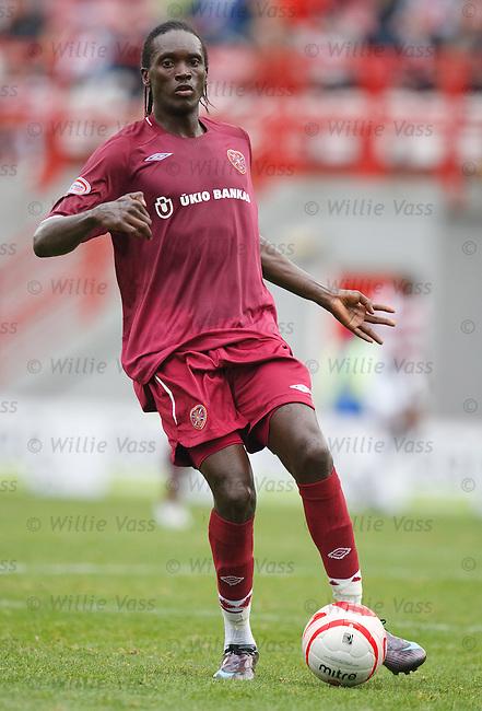 David Obua, Hearts