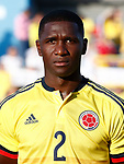 Colombia's Cristian Eduardo Zapata during international friendly match. June 13,2017.(ALTERPHOTOS/Acero)