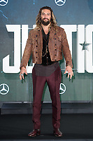 Jason Momoa at the photocall for &quot;Justice League&quot;, Southampton Row, London, UK. <br /> 04 November  2017<br /> Picture: Steve Vas/Featureflash/SilverHub 0208 004 5359 sales@silverhubmedia.com