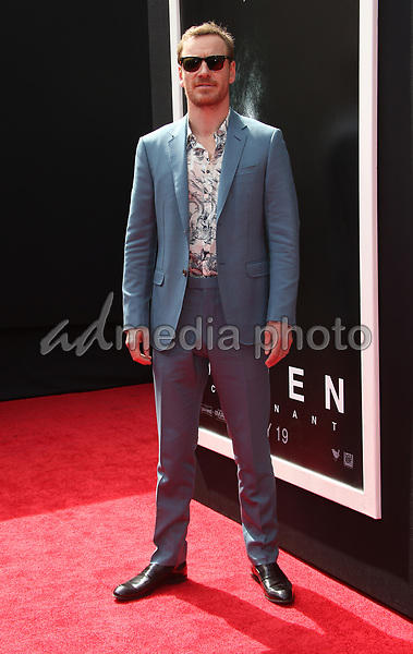 17 May 2017 - Hollywood, California - Michael Fassbender. Sir Ridley Scott Hand And Footprint Ceremony. Photo Credit: AdMedia