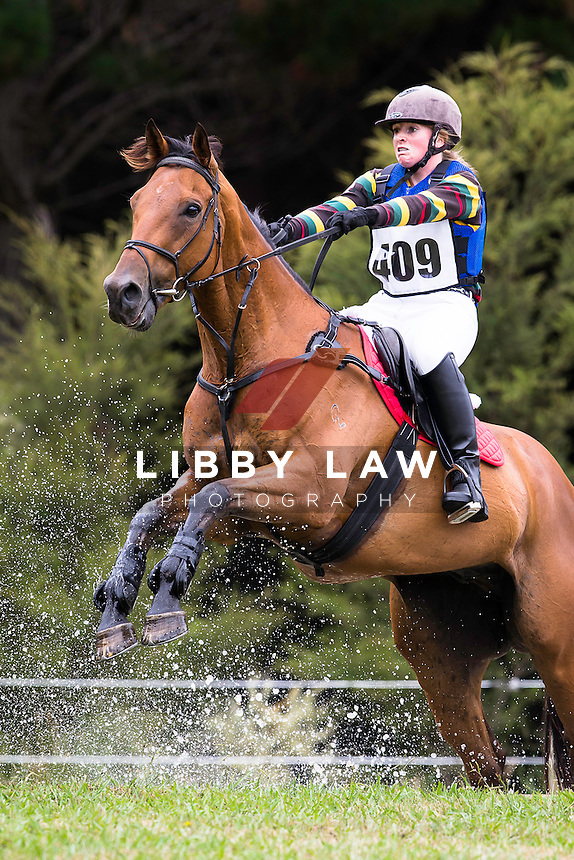 NZL-Olivia McDermott (BALLACHULISH) 3C NZPC 80: 2015 NZL-Hunua Pony Club ODE (Sunday 1 February) CREDIT: Libby Law COPYRIGHT: LIBBY LAW PHOTOGRAPHY