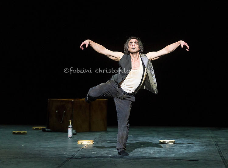 London, UK. 22.11.2017. 'Men in Motion' Ivan Putrov's celebration of the male dancer returns to the London Coliseum, 22-23 Nov 2017. Photo shows: Irek Mukhamedov in a new work by Arthur Pita. Photo - © Foteini Christofilopoulou.