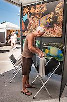 Large crowd attends Naples Art Association's annual Art in the Park at The von Liebig Art Center, Naples, Florida, USA, Dec. 1, 2012. Photo by Debi Pittman Wilkey