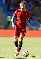 Calcio, Serie A: Roma vs Udinese. Roma, stadio Olimpico, 23 settembre 2017.<br /> Roma&rsquo;s Aleksandar Kolarov in action during the Italian Serie A football match between Roma and Udinese at Rome's Olympic stadium, 23 September 2017. Roma won 3-1.<br /> UPDATE IMAGES PRESS/Riccardo De Luca