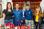 The O'Donoghue family from Faha Killarney enjoying the evening in Cassidys on Friday.<br /> L to r: Nora, Padraig Snr and Padraig Jnr and Louise.