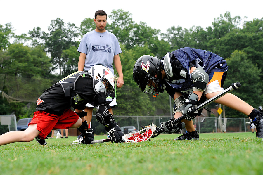 Jim Fritz Wining Edge Lacrosse Camp at Queens University of Charlotte.  Queens University of Charlotte Head Coach Jim Fritz was named conference coach of the year 3 times and offers a Lacrosse camp during the summer to help boys and girls of all ages and experience levels learn the fundamentals of lacrosse and reach their potential in a positive and fun environment.