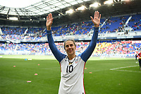 Harrison, N.J. - Sunday March 04, 2018: Carli Lloyd during a 2018 SheBelieves Cup match between the women's national teams of the United States (USA) and France (FRA) at Red Bull Arena.