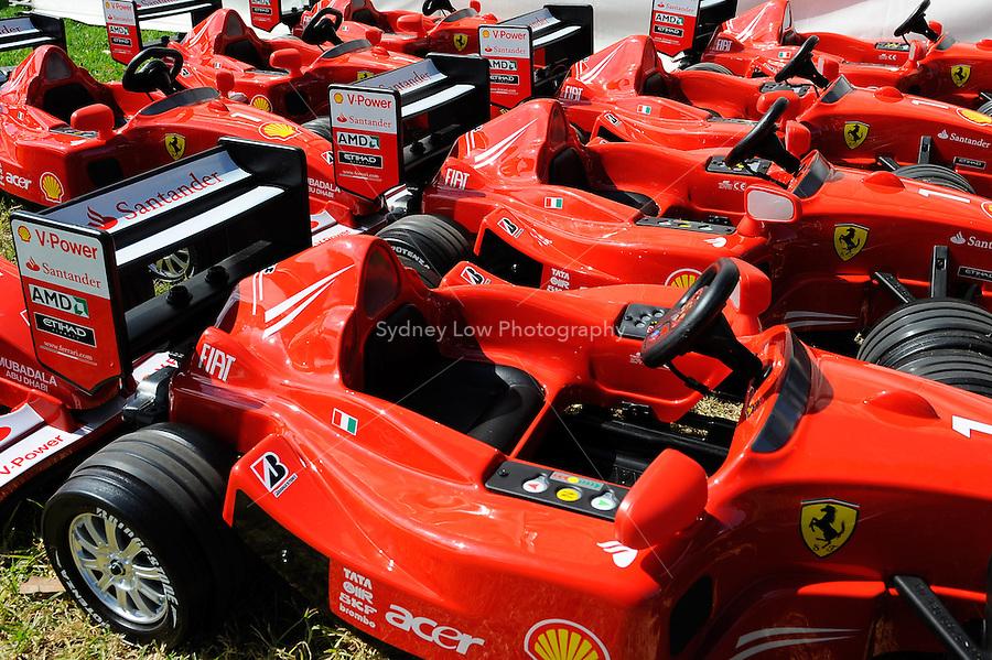 MELBOURNE, 27 MARCH - Carnival rides at the 2011 Formula One Australian Grand Prix at the Albert Park Circuit, Melbourne, Australia. (Photo Sydney Low / syd-low.com)