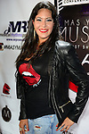 "MIAMI BEACH, FL - APRIL 27: Ninon arrive at the Billboard Latin Music Conference and Awards - day 1 during the ""Mas Y Mas Musica"" Sixth Edition Artist Showcase at Ocean's Ten on April 27, 2015 in Miami Beach, Florida. ( Photo by Johnny Louis / jlnphotography.com )"