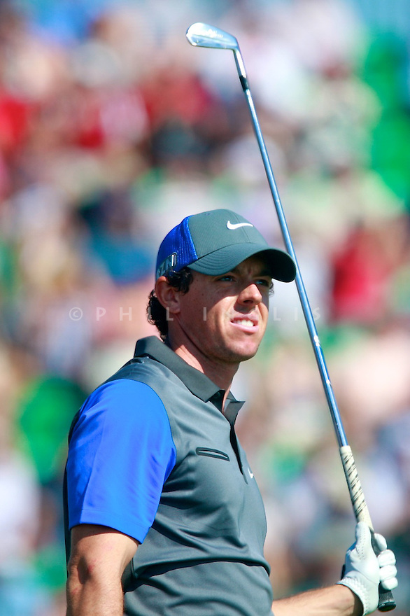 Rory McILROY (IRE) in action during the first round of  The 143rd Open Championship played at Royal Liverpool Golf Club, Hoylake, Wirral, England. 17 - 20 July 2014 (Picture Credit / Phil Inglis)