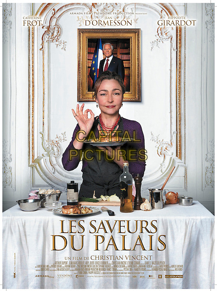 ORIGINAL FRENCH POSTER ART<br /> in Haute Cuisine (2012) <br /> (Les saveurs du Palais)<br /> *Filmstill - Editorial Use Only*<br /> CAP/FB<br /> Image supplied by Capital Pictures