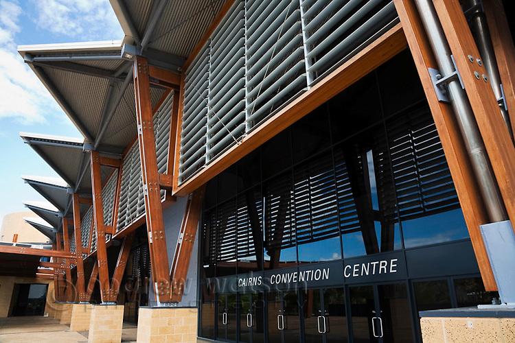 Cairns Convention Centre.  Cairns, Queensland, Australia