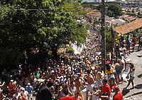 OLINDA-PE-07.02.2016- CARNAVAL-PE- Foliões se divertem nas ladeiras de olinda, neste domingo, 07.(Foto: Jean Nunes/Brazil Photo Press)