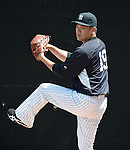 Masahiro Tanaka (Yankees),<br /> SEPTEMBER 15, 2014 - MLB : Masahiro Tanaka of the New York Yankees before a simulated game at Steinbrenner Field in Tampa, Florida, United States.<br /> (Photo by AFLO)