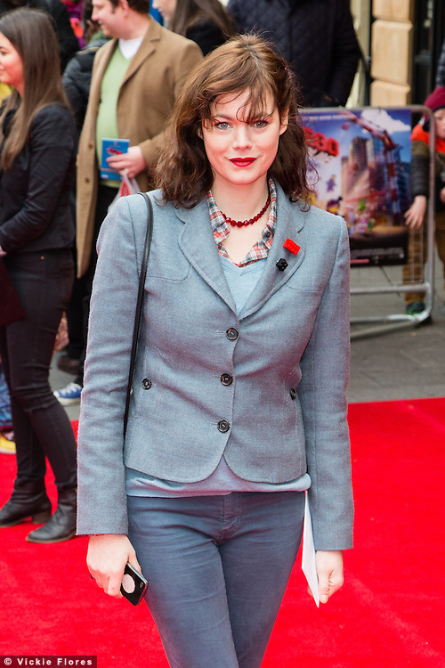Jasmine Guinness attends the UK Premiere of The Lego Movie at the Vue West End in Leicester Square, London on February 9th, 2014.