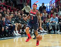 Beal Bradley (G, Washington Wizards, #3) - 22.01.2020: Miami Heat vs. Washington Wizards, American Airlines Arena