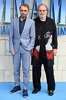 "Bjorn Ulvaeus and Benny Andersson<br /> arriving for the ""Mama Mia! Here We Go Again"" World premiere at the Eventim Apollo, Hammersmith, London<br /> <br /> ©Ash Knotek  D3415  16/07/2018"
